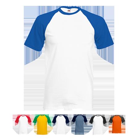 Contrast Baseball T-Shirt in
