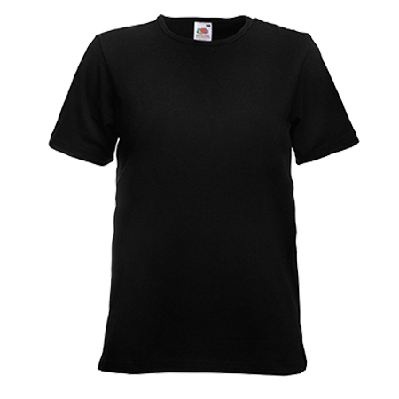 Slim Fit T-Shirt in black