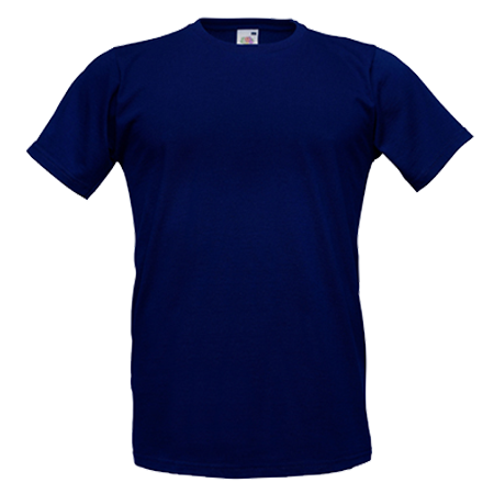 Fitted Value T-Shirt in deep-navy