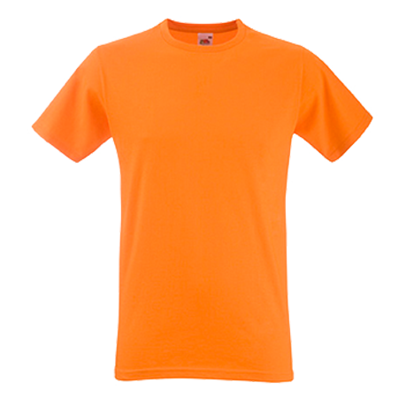 Fitted Value T-Shirt in orange