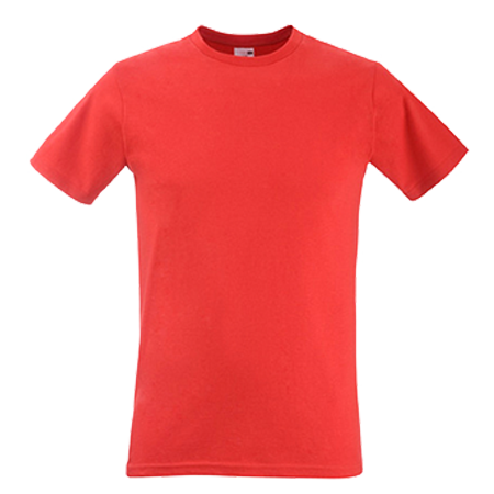 Fitted Value T-Shirt in red