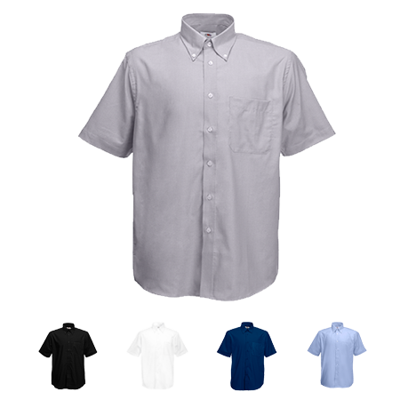 Short Sleeve Oxford Shirt in