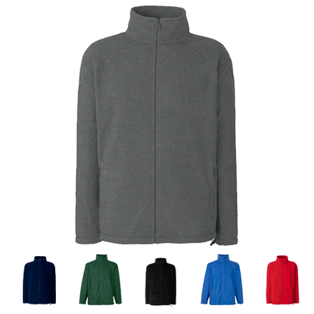 Outdoor Fleece Jacket in smoke
