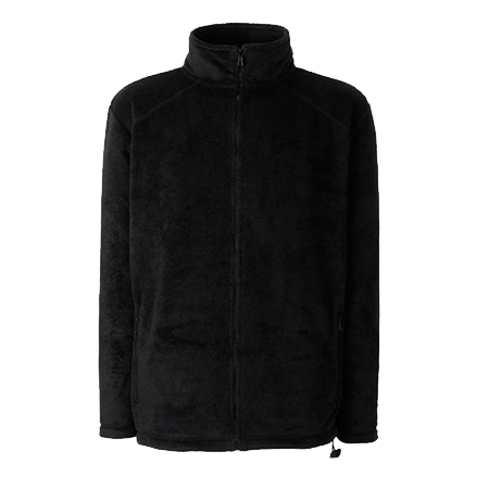 Outdoor Fleece Jacket in black