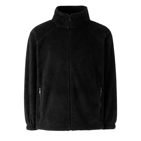 Kids Outdoor Fleece Jacket in black