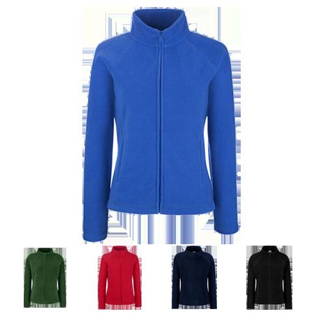 Lady Fit Outdoor Fleece Jacket in royal-blue