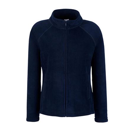 Lady Fit Outdoor Fleece Jacket in deep-navy