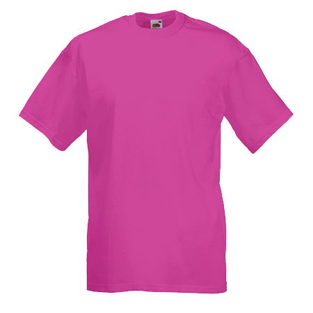Value T-Shirt in fuchsia