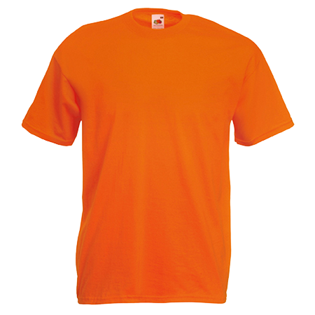 Value T-Shirt in orange