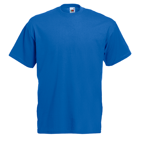 Value T-Shirt in royal-blue