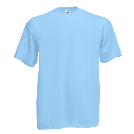 Value T-Shirt in sky-blue