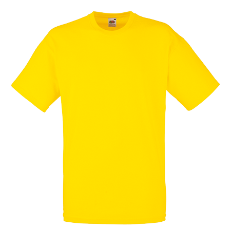Value T-Shirt in yellow