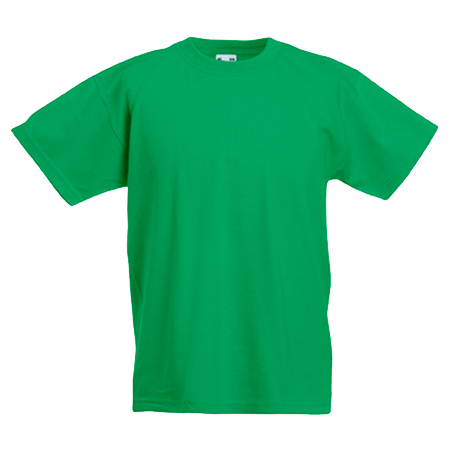 Kids Value T-Shirt in kelly-green