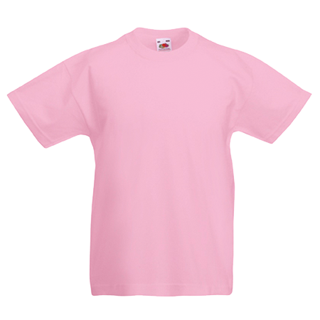 Kids Value T-Shirt in light-pink