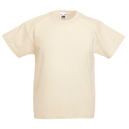 Kids Value T-Shirt in natural