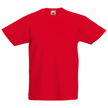 Kids Value T-Shirt in red
