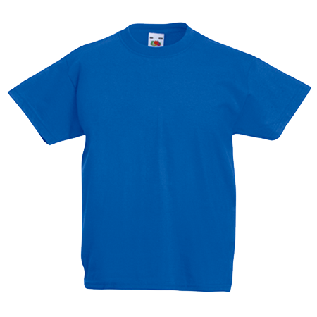 Kids Value T-Shirt in royal-blue