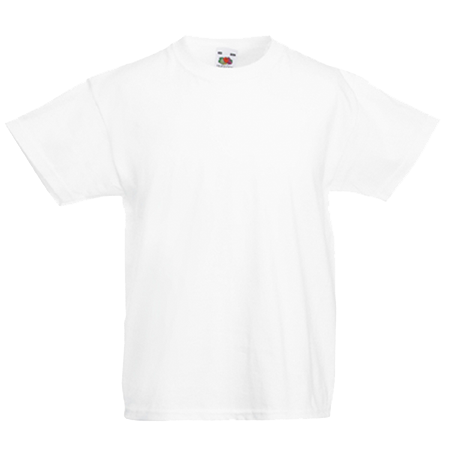 Kids Value T-Shirt in white