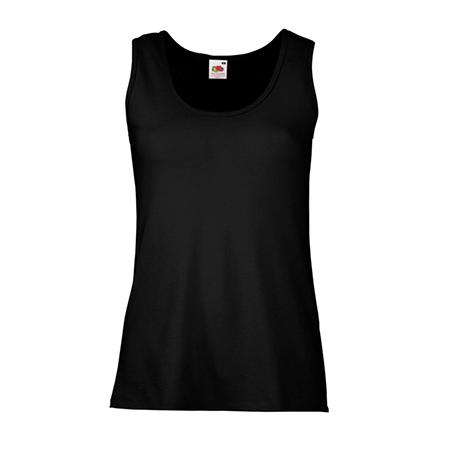 Lady Fit Value Vest in black