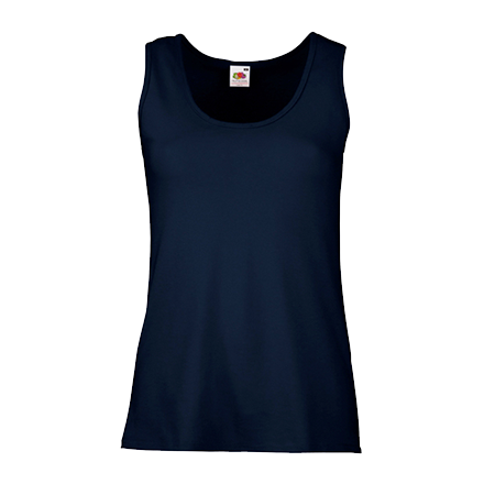 Lady Fit Value Vest in deep-navy