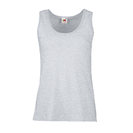 Lady Fit Value Vest in heather-grey
