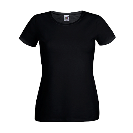 Lady Fit T-Shirt in black