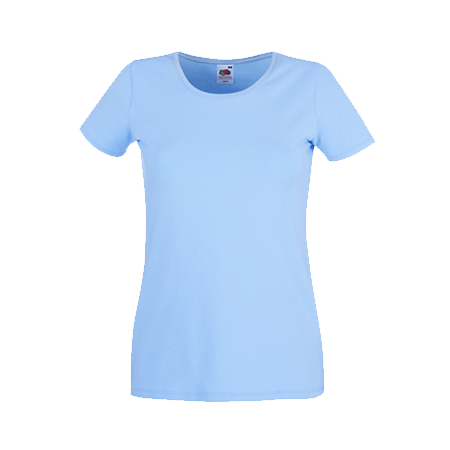 Lady Fit T-Shirt in sky-blue