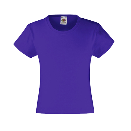 Girls Value T-Shirt in purple