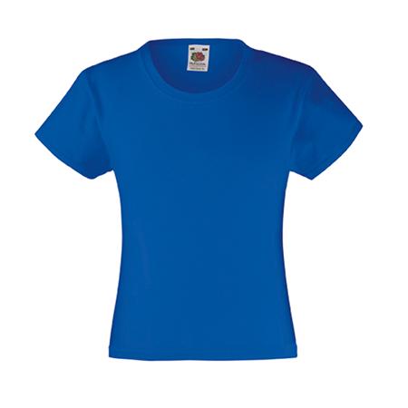 Girls Value T-Shirt in royal-blue