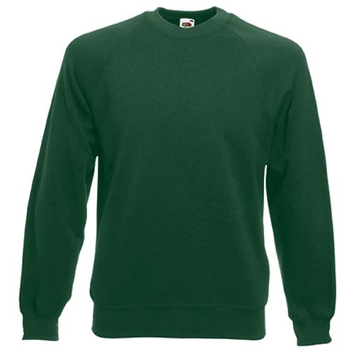 Raglan Sweatshirt in bottle-green