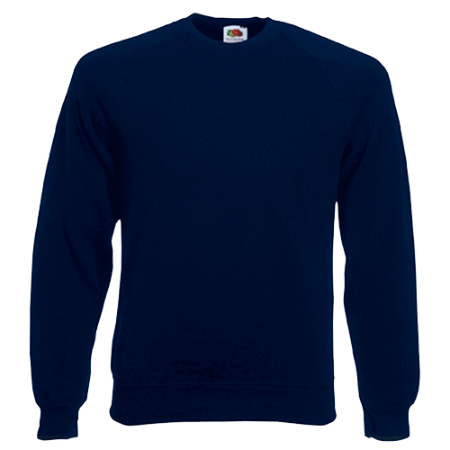 Raglan Sweatshirt in deep-navy