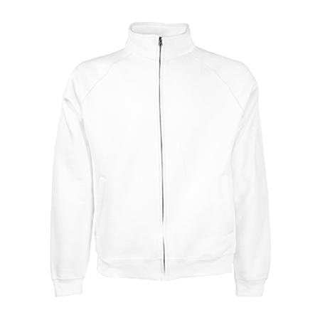 Sweat Jacket in white
