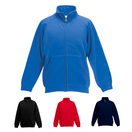 Kids Sweat Jacket in royal-blue