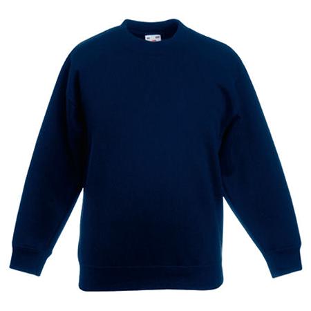 Kids Drop Shoulder Sweatshirt in deep-navy