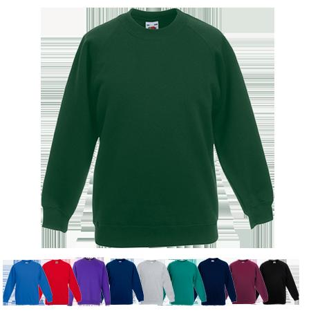 Kids Premium Raglan Sweatshirt in royal-blue
