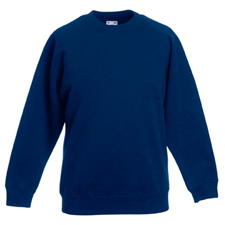 Kids Premium Raglan Sweatshirt in navy