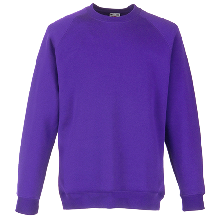 Kids Premium Raglan Sweatshirt in purple