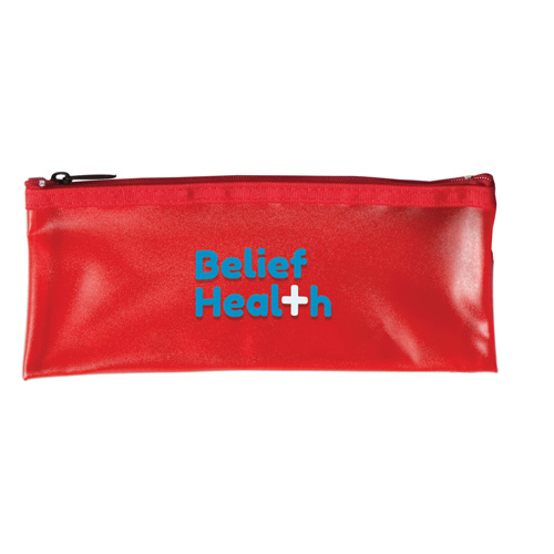 Frost Pencil Case in red