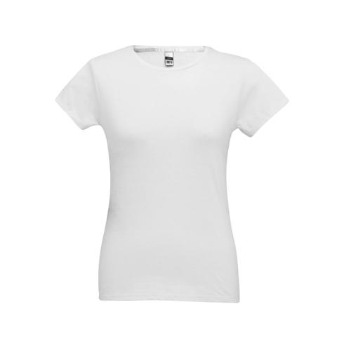 SOFIA. Women's t-shirt in white