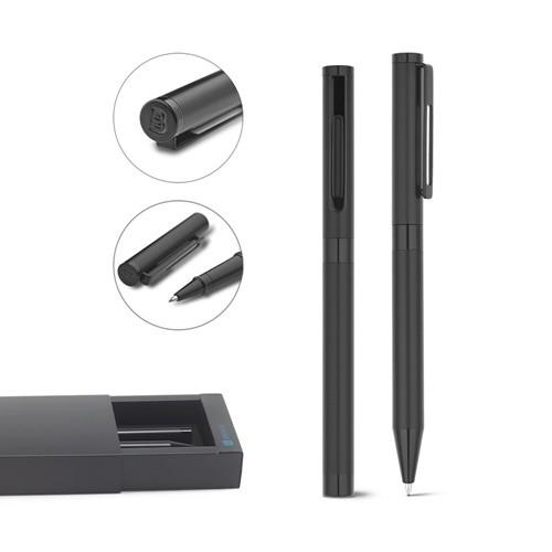 AUTOGRAPH. Roller pen and ball pen set AUTOGRAPH in black