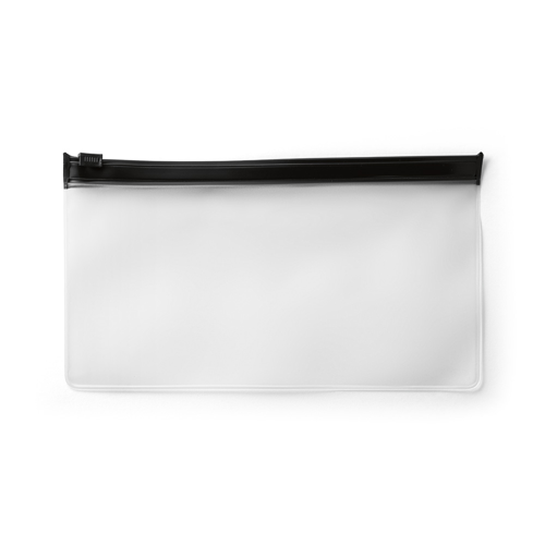 INGRID I. Pouch for protective mask in black