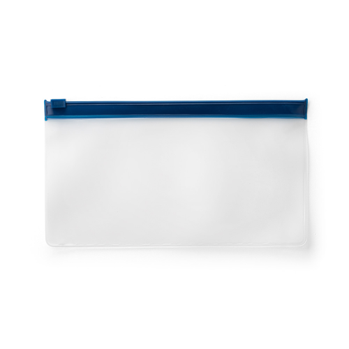 INGRID I. Pouch for protective mask in blue