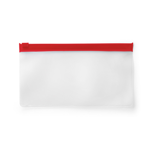 INGRID I. Pouch for protective mask in red