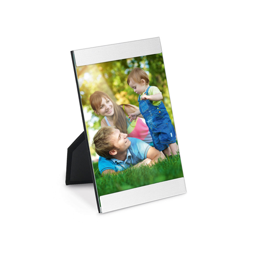 GUILLE. Photo holder in silver