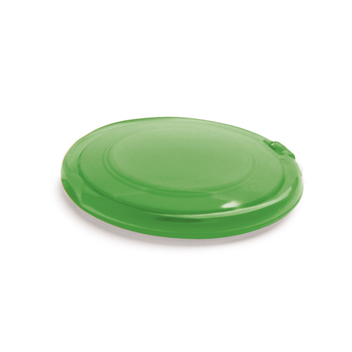 AMELIA. Make-up mirror in lime-green