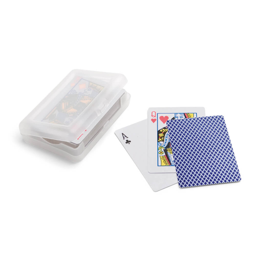 JOHAN. Pack of 54 cards in blue