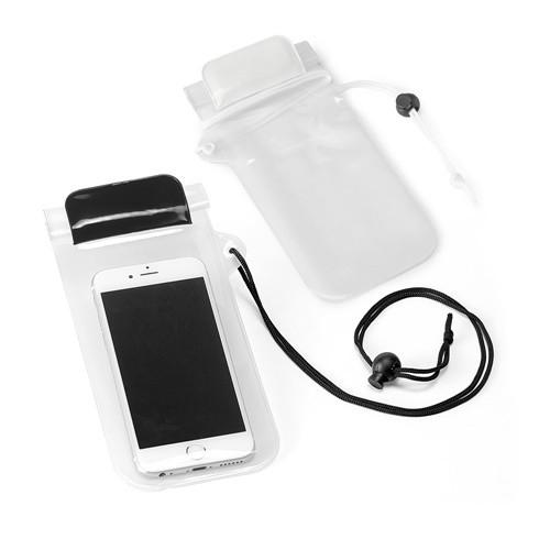 EGEU. Mobile phone case in white
