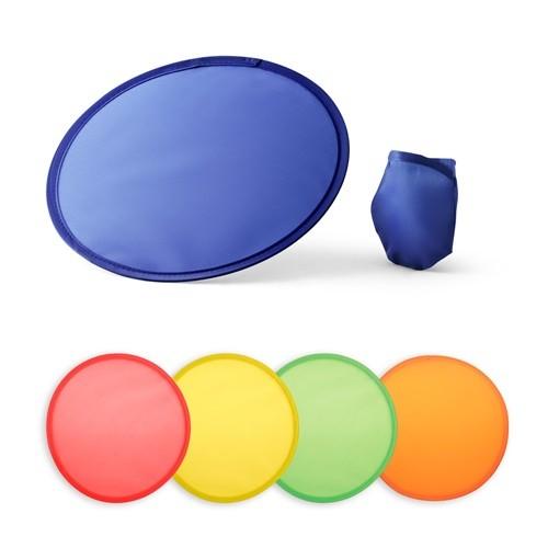 JURUA. Foldable flying disc in yellow