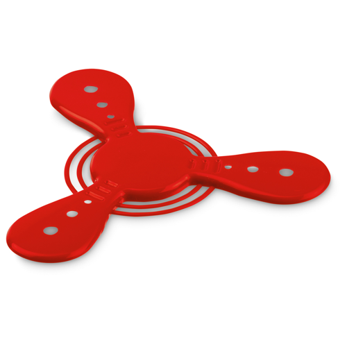 ROTER. Frisbee in red
