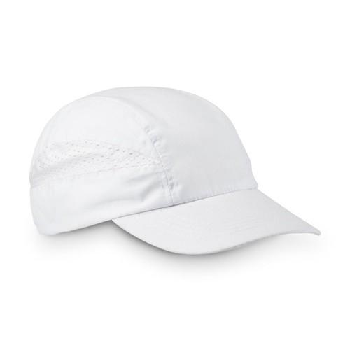 BROWNE. Cap in white